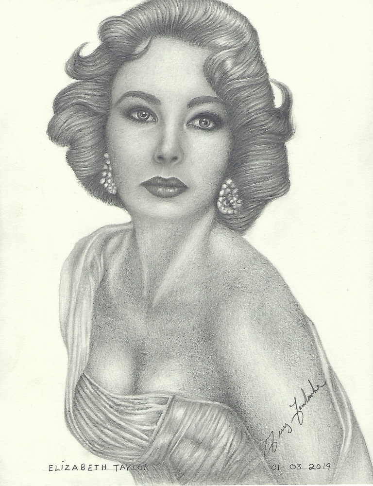 Elizabeth Taylor by voyageguy@gmail.com